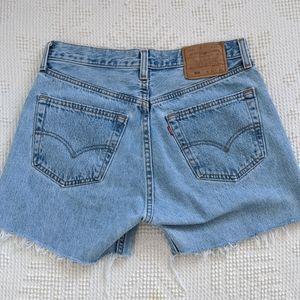 Vintage Levi's 501 Denim Cutoff Shorts